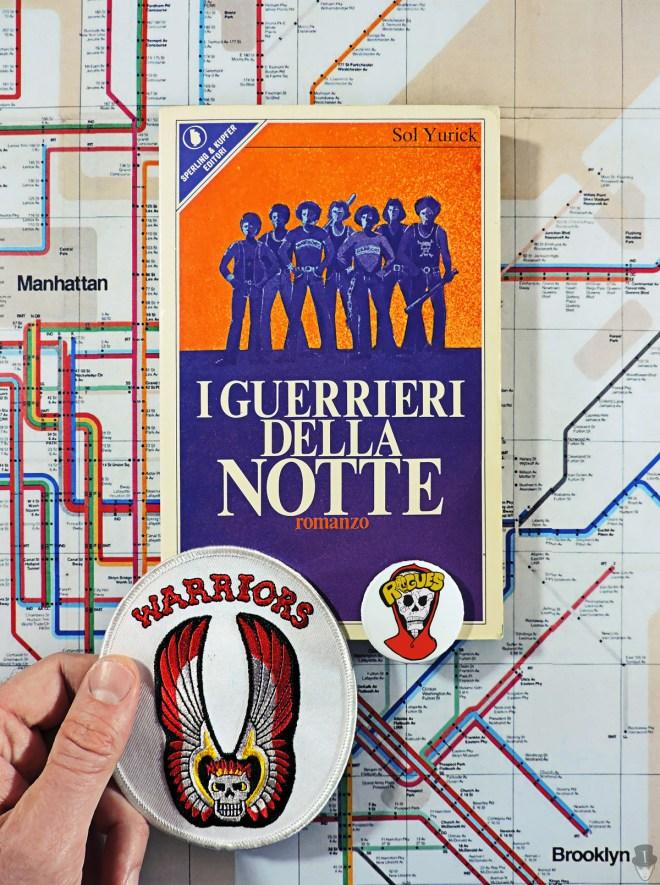 """Il libro """"I guerrieri della notte"""" di Sol Yurick, prima edizione italiana"""
