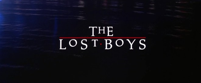 """The Lost Boys"" di Joel Schumacher, uscito in Italia come ""Ragazzi perduti"""