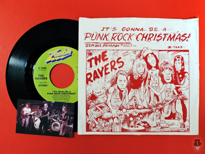 Canzoni punk per Natale: The Ravers - Punk Rock Christmas