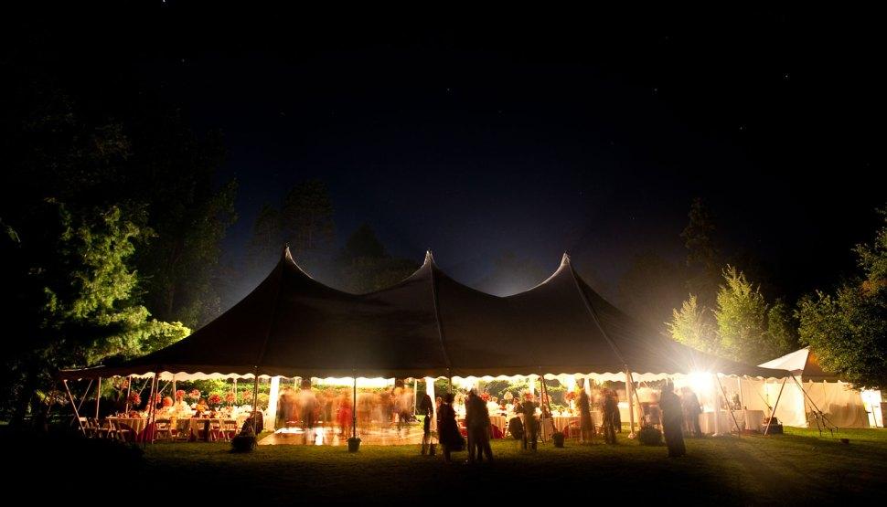 Festival Style Wedding Tent