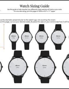 Crown  caliber  watch sizing guide also size chart band dial bezel rh blogownandcaliber