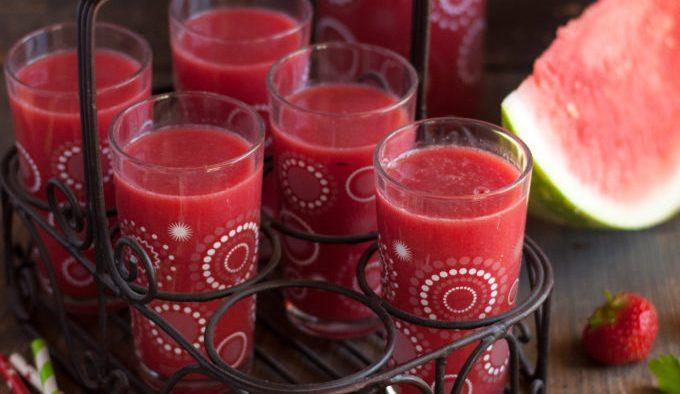 Jus pastèque grenadine recette Extracteur de jus Kuvings