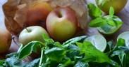 pommes-menthe-jus