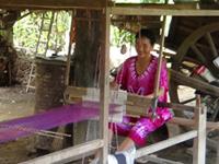 Silk Weaving Village