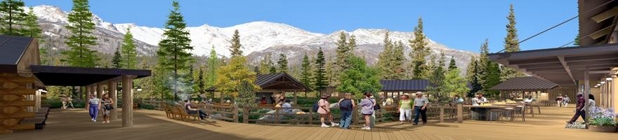 Holland America's Denali Lodge