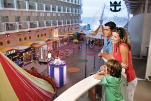Harmony of the Seas Boardwalk Area