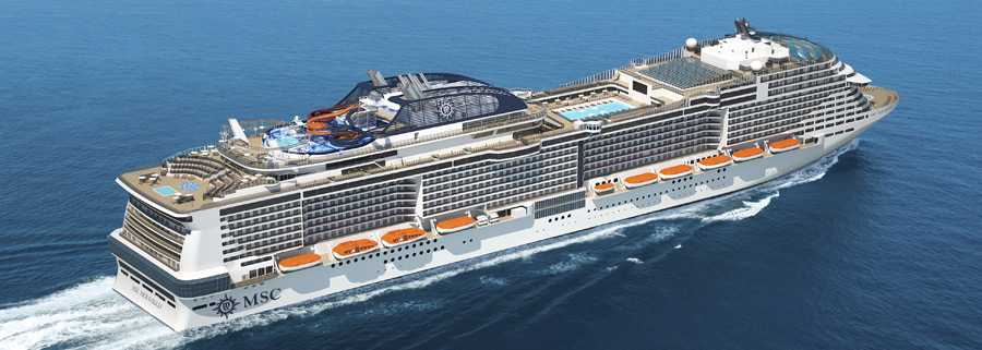 MSC Cruises' MSC Meraviglia & MSC Seaside