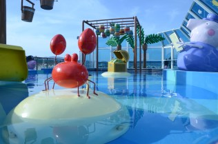 Costa Cruises Pool Deck