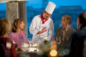 Dining on Viking River Cruises