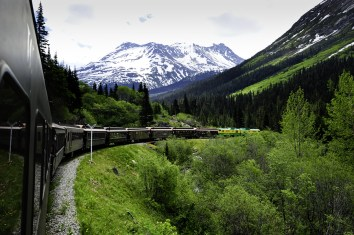 Alaska White Pass Train To Skagway