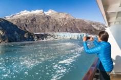 Alaska cruises often include Glacier Bay