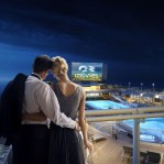 Movies Under the Stars from Sky Suite Balcony
