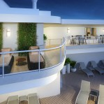 Princess Cruises Sky Suite expansive wraparound balcony is ideal for hosting your own get togethers
