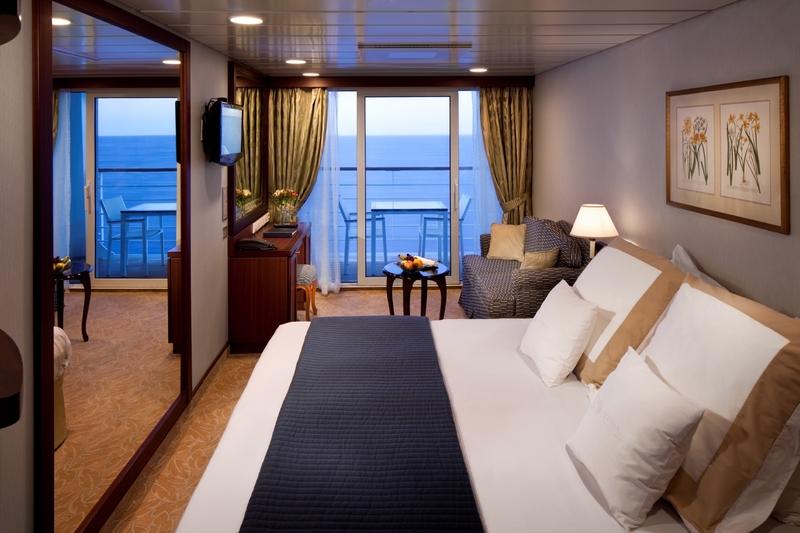 Oceanview Verandah Cabin On Azamara Club Cruises
