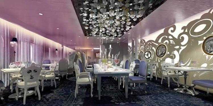 Royal Caribbean Wonderland Restaurant