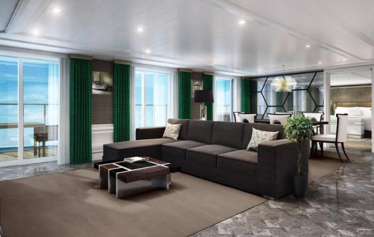 Regent Seven Seas Explorer Grand Suite