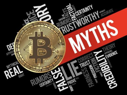 Myths about cryptocurrency