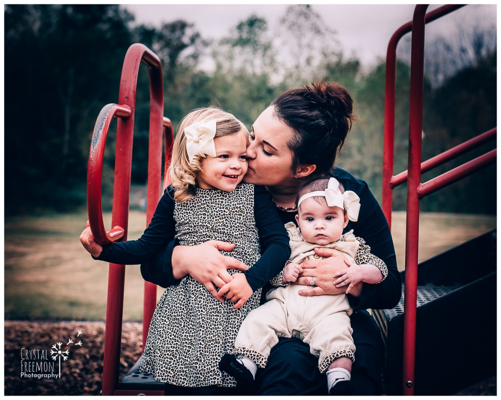 Fall Family Photos in Spring Hill TN with Margot and Mia