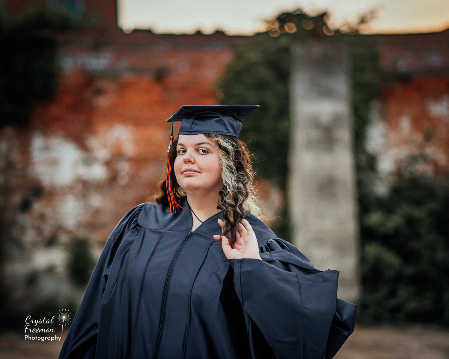 Senior Pictures in Downtown Columbia