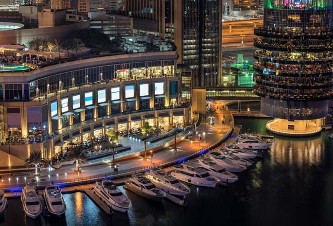 Enjoy a shopping day at the Galleria, Al Raha, and Marina Mall