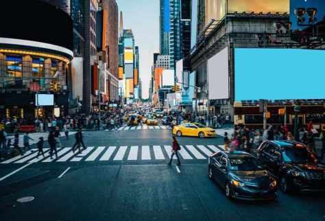 Get Amazed by the Billboards at Times Square