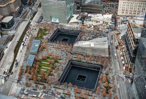 Pay Your Respects at the 9/11 Memorial