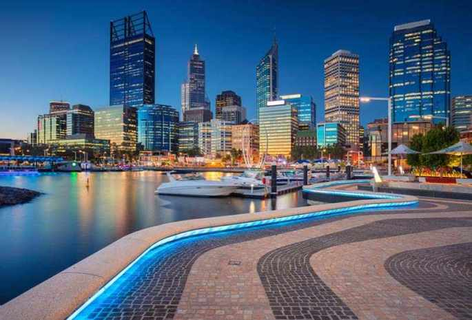 Recreate history at Perth