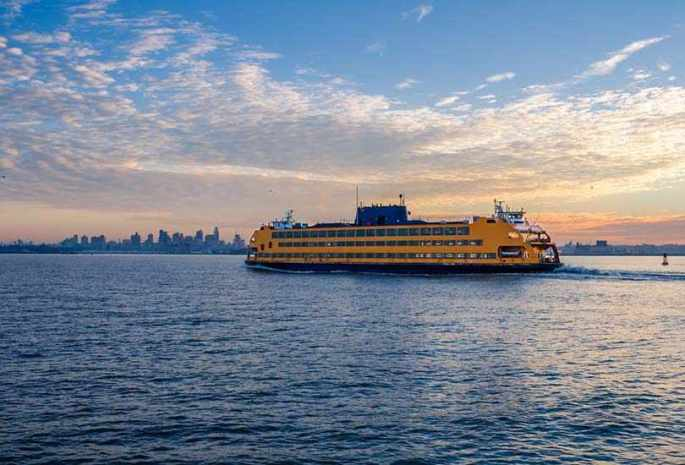 Take a ferry to Staten Island