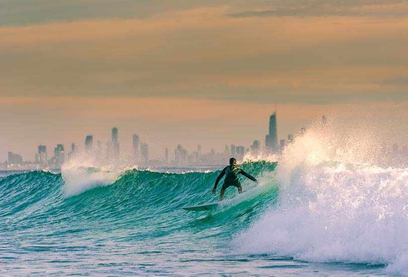Visit Surfer's Paradise at Gold Coast
