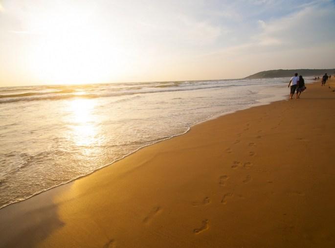 Colva Beach, Central Goa
