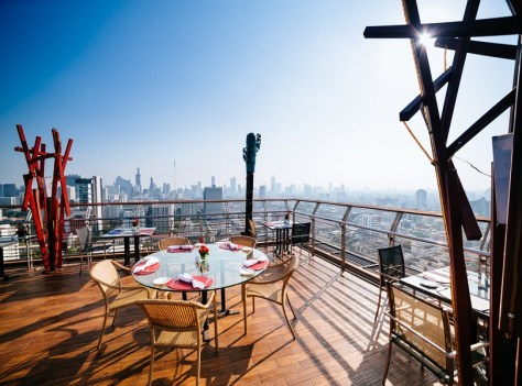ENJOY AMAZING ROOFTOP VIEWS WHILE ENJOYING THE FINE DINE