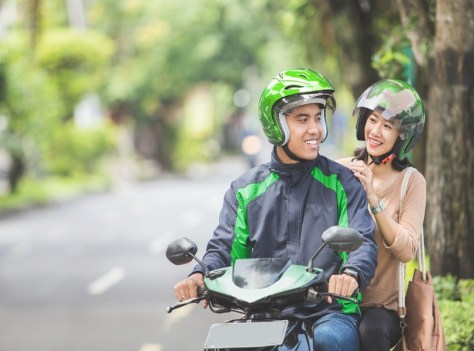 TAKE A RIDE IN MOTORCYCLE TAXI