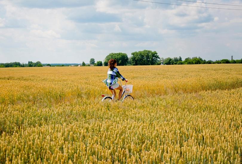 Explore Ukraine by bicycle