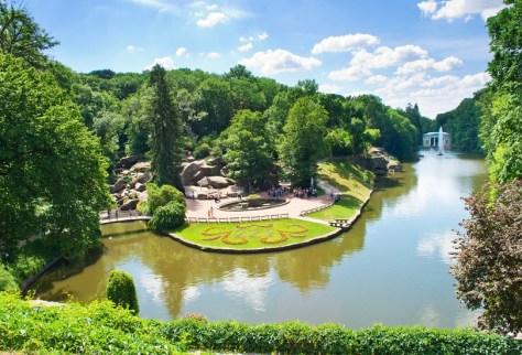 Sofiyivka park in Uman, Ukraine