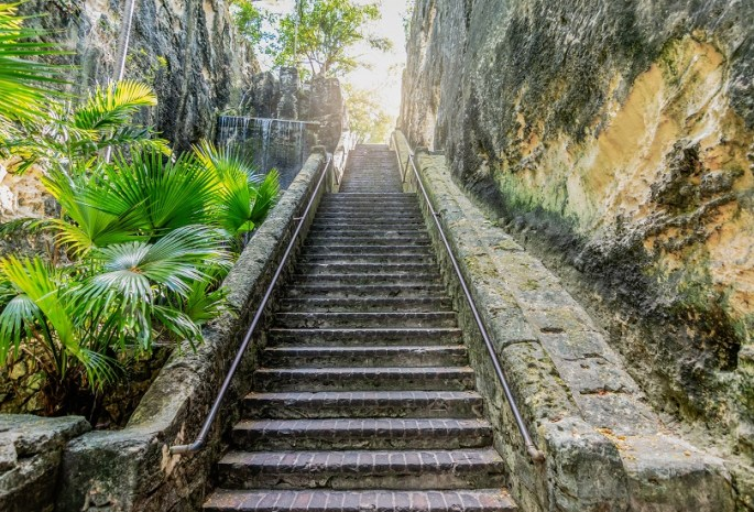 queens Staircase in Bahamas