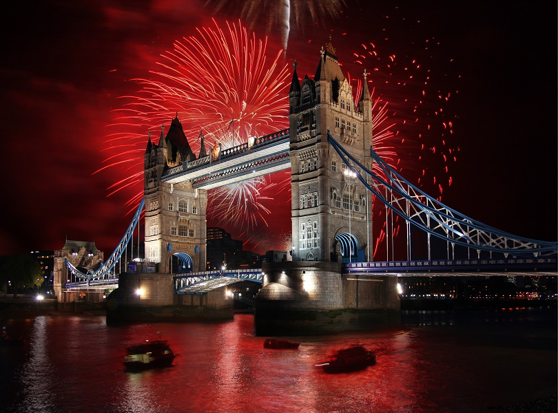 London on New Year