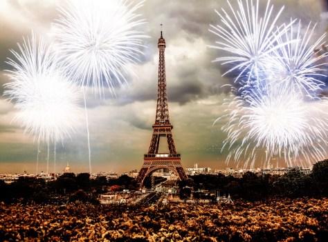 Paris on New Year