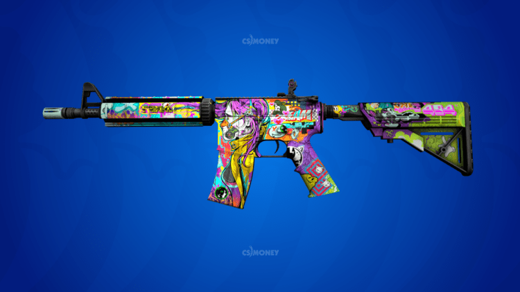 m4a4 in living color