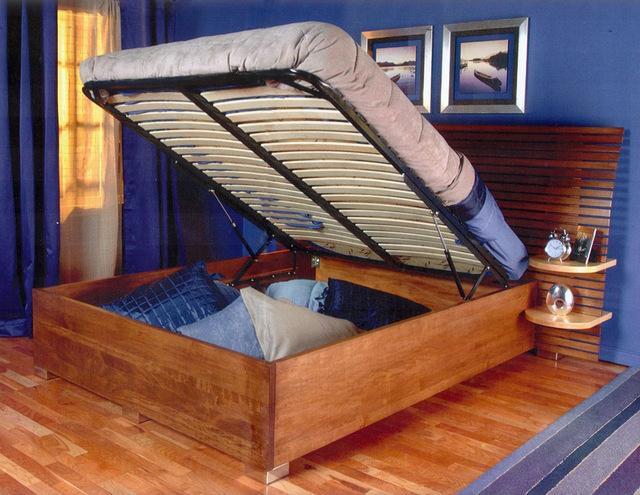 DIY Platform Bed Lift Kit: The Bedroom Storage Solution