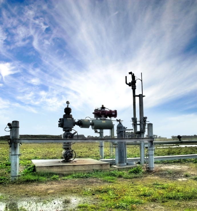 A new life for empty gas reservoirs