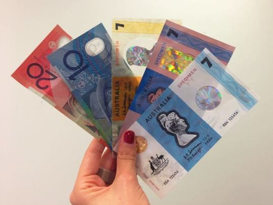 We even created $7 notes for poops and giggles (and for security reasons)