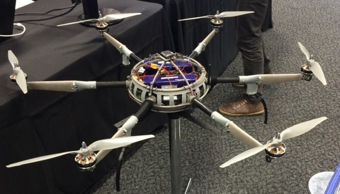 Titanium propels 3D printed drone to aid in bushfires