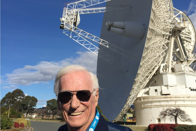 The Last Man on the Moon… goes to Canberra