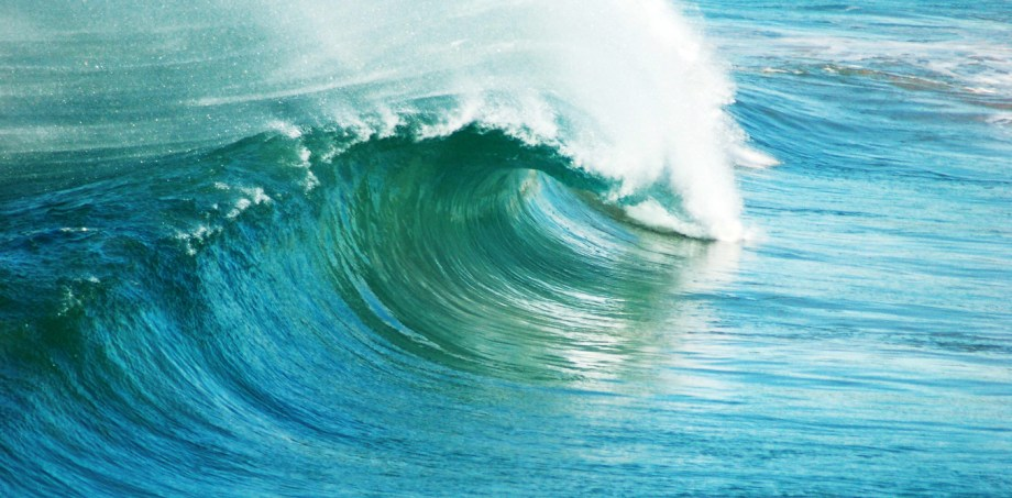 Australia has some of the world's best ocean energy resources. Wave image from www.shutterstock.com