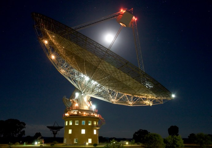 The Dish joins global search for new signs of life