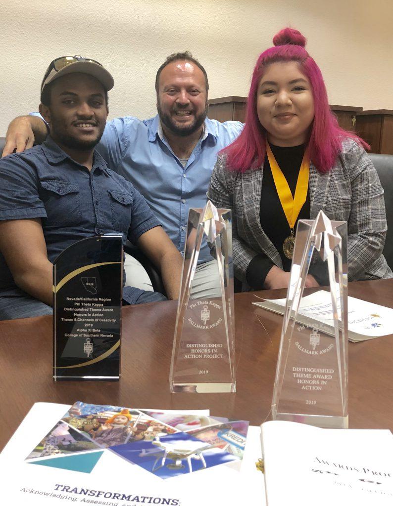 CSN students win national awards at Phi Theta Kappa headquarters