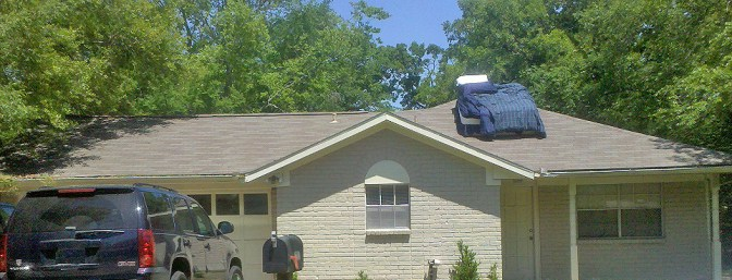 bed on roof