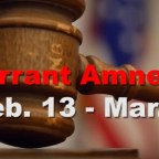 Warrant amnesty can help you save money, avoid jail