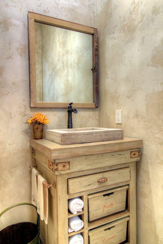 Fabriquer un meuble de salle de bain  partir de rcup  Cuboak