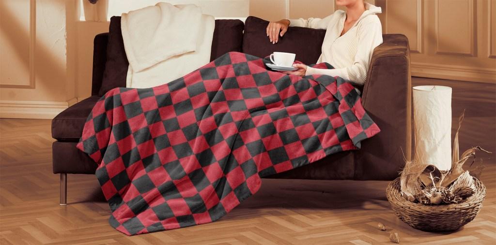Blanket Cozy Plush Lifestyle